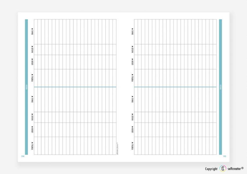 Kalendarz Selfcreator Planner 2021 - Hasła